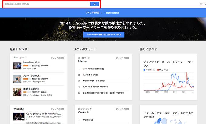 キーワード選び方googleトレンド